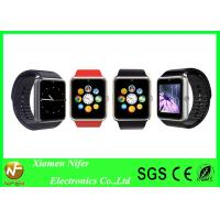Buy cheap Silver Gold or Metal Black Bluetooth Wrist Smart Bracelet Watch Phone for Promotion Gift from wholesalers