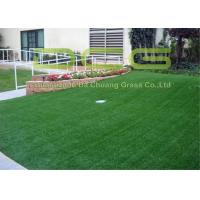 Buy cheap PE Material Artificial Turf Grass / Synthetic Grass Lawn With SGS Certificate from wholesalers