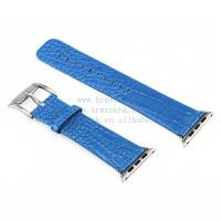 Buy cheap Wholesale Cheap Price Apphire Blue Crocodile Leather Band for Apple Watch from wholesalers