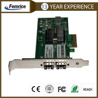 Buy cheap 1 Gbps Intel 82580EB Gigabit Controller Ethernet Workstation Allication Network Adapter 1G2DB580-SFP from wholesalers