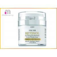 Buy cheap Organic Retinol Anti Aging Skin Care Face Cream / Super Moisturizing Face Cream from wholesalers