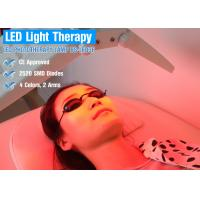Buy cheap 2520 diode Four Color LED Light Therapy Professional Equipment For Spider Veins / Red Spots from wholesalers