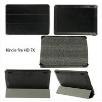 Buy cheap Slim Folio Luxury PU Leather Case Stand Cover For Amazon New Kindle Fire HD X7 7 Tablet from wholesalers