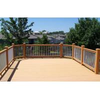 Buy cheap Environmental Light Yellow WPC Garden Fence , WPC Outdoor Railing Board from wholesalers