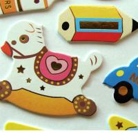 Buy cheap Sponge Funny Cartoon Stickers With Self Adhesive from wholesalers