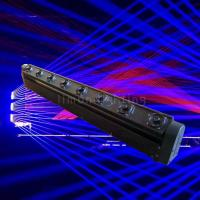 Buy cheap Factory Directly Price Blue DJ Laser 8 Eyes Moving Head Bar Lights for Events from wholesalers