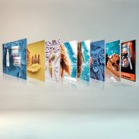 Buy cheap Free Standing Seg Photo Fabric Picture Frames Display For Exhibition Shopping Mall from wholesalers