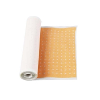 Buy cheap 18cmx5m Zinc oxide adhesive perforated plaster from wholesalers