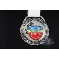 Buy cheap Sport Event Custom Award Medals Custom Medallions No Minimum With Lanyard from wholesalers