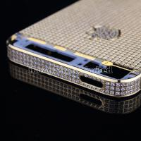 Buy cheap Replacement Parts Diamond Back Cover Complete Assembly for iPhone 5 Golden from wholesalers
