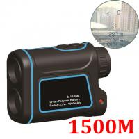 Buy cheap 1500MOutdoor Laser Distance Meter Telescope Digital Monocular Rangefinder High-precision Range Finder Distance for Golf from wholesalers