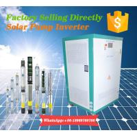 Buy cheap 150HP Pump Motor Controller Solar Power Inverter with MPPT400-800VDC from wholesalers