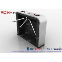 Buy cheap Access Control System Tripod Turnstile Gate 3 Arm Bi Directional 550mm Passage Width product