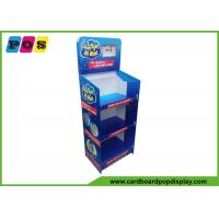 CMYK Full Color Printed Cardboard Display Stands Easy Assembly For Sleep Toys FL179