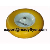Buy cheap PU rubber wheel for wheel barrow from wholesalers