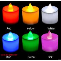 Buy cheap Polypropylene Plastic Candle Shape LED Fliker Flameless Candles Light For Wedding Party from wholesalers
