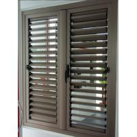 Buy cheap Aluminumshutter blind window from wholesalers