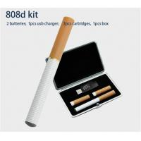 Buy cheap 808D Disposable E Cigarette Smoking Pipes 300 - 500 Puffs Leather Box Kit from wholesalers