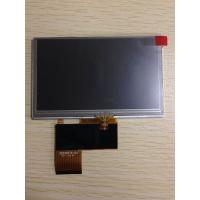 Buy cheap Wide screen Chimei Innolux Grade A 4.3 inch with touch panel wide temperature LCD panel AT043TN24 V.7 for MP4/PMP from wholesalers