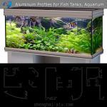 Buy cheap Customzied Design Aluminum Frames to Make Fish Tanks and Aquarium from wholesalers