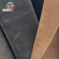Buy cheap microfiber suede for suede shoes or suede boots from wholesalers