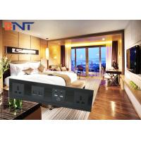 Buy cheap High - Class 4 Way 110 ~ 240 VAC Wall Socket Plates With HDMI / RJ45 / RJ11 Output from wholesalers