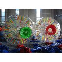 Buy cheap Lawn Advertising Glowing Inflatable Zorb Ball Shinning For Adults from wholesalers