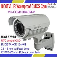 Buy cheap SONY 1000 TVL Waterproof IR Camera Model No.:VG-CCM10IR40M-V from wholesalers