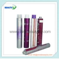 Buy cheap Empty  aluminum Collapsible tubes for hair dying cream packing silver color printing from wholesalers