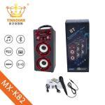 Buy cheap 2018 New designed microphone bluetooth speaker wireless portable wireless speaker from wholesalers