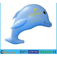 Buy cheap Blue Printing Inflatable Dolphin Pool Animals Toy 30'' Quick Delivery Kids Summer Toys from wholesalers