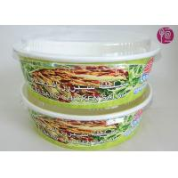 Buy cheap 26 Ounce Logo Printed Paper Salad Bowls For Grill , Disposable Paper Food Containers from wholesalers
