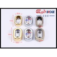 Buy cheap Flange Mounting Furniture Fittings Hardware  Chrome Finished Clothes Rail Rod Bracket Holder from wholesalers