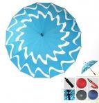 Buy cheap manual open umbrella 23''*16k pongee fabric from wholesalers