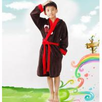 Buy cheap kids coral fleece bathrobe from wholesalers