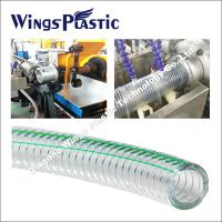 Buy cheap Steel Wire Reinforced PVC Hose Making Machine, PVC Spring Hose Production Line from wholesalers