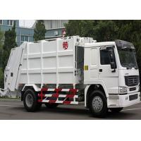 Single Sleeper Compression Garbage Truck 5.5m³ Body Volumes 6 Tires