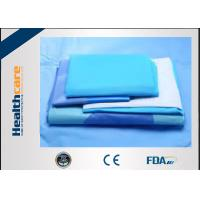Buy cheap SMMS EO Sterile General Surgery Drape Disposable Surgical Packs With OP Tape product