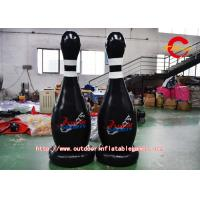 Buy cheap 600D Nylon Black Inflatable Bowling Model For Festival / Party from wholesalers