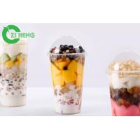 Buy cheap Durable Transparent Plastic Drink Lids Break Proof Tasteless For 700ml Cups from wholesalers