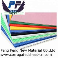 Buy cheap 48X96 white/blue/green color polypropylene corflute coroplast for printing board inadvertising industry from wholesalers