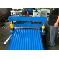 Buy cheap Hydraulic 850 Cold Roll Forming Machine Wave Profile , PPGI/GI Steel Metal Sheet from wholesalers