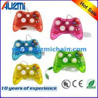 Buy cheap Transparent Wired Joystick For Xbox 360 Controller Led Lighting gamepad for xbox 360 from wholesalers