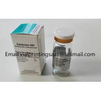 Buy cheap Custom Sticker,pharmaceutical Usage and Vinyl Material hologram 10ml vial label maker from wholesalers