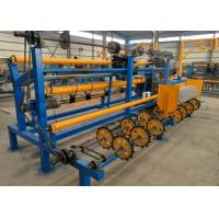 Buy cheap Semi Automatic Chain Link Fence Machine Single Wire Sturdy Structure High Output from wholesalers