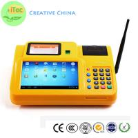 Buy cheap 7 Inch touch Android Mobile POS id OCR identify Tablet POS Fingerprint payment terminal from wholesalers