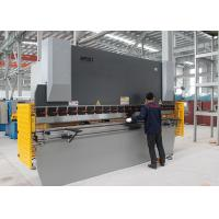 Buy cheap 160T 3.2M NC Steel Press Brake Steel Bar Cutting And Bending Machine 11KW Power from wholesalers