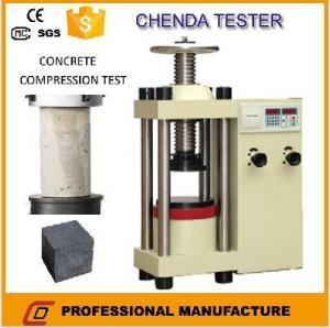Buy cheap YES-2000 Hydraulic Compression Testing Machine +Concrete Compression Testing Machine product