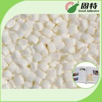 Buy cheap Top grade Low Grams Milk White Hot Melt Coated Paper Spine Bookbinding  EVA Based Hot Glue Adhesive With High Quality from wholesalers