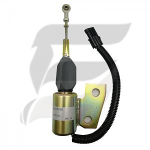 Buy cheap 3991168 24V Engine Fuel Stop Solenoid  For Hyundai R130 Excavator product